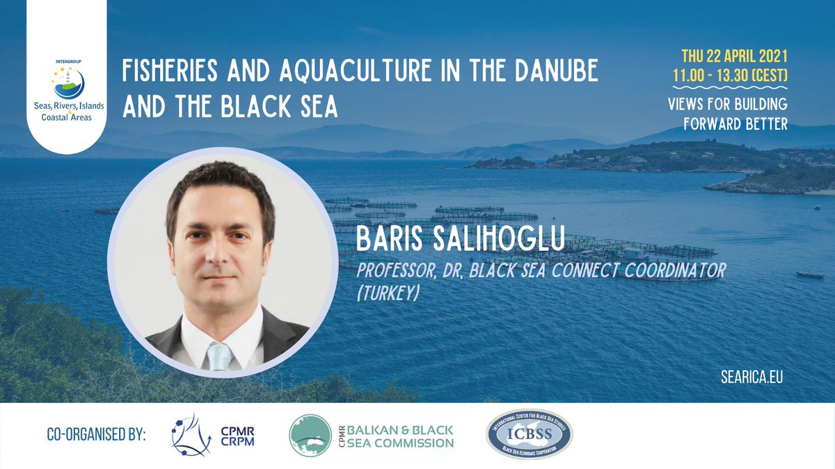 SEARICA Online Conference-Fisheries and Aquaculture in the Danube and the Black Sea region: views for building forward better