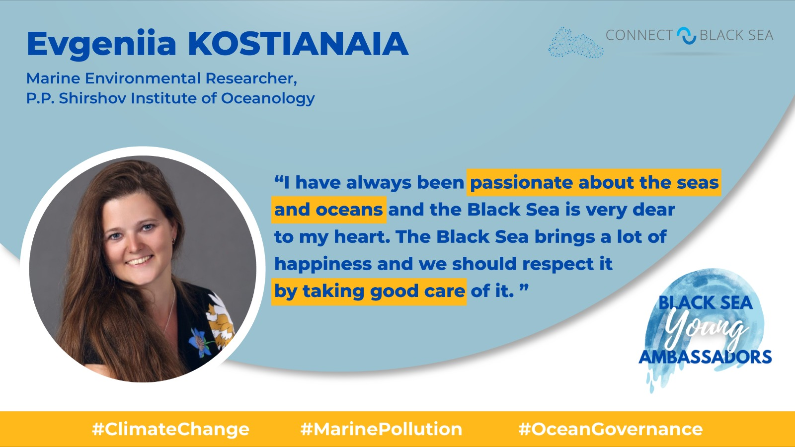 Black Sea Young Ambassadors' Social Media Campaign